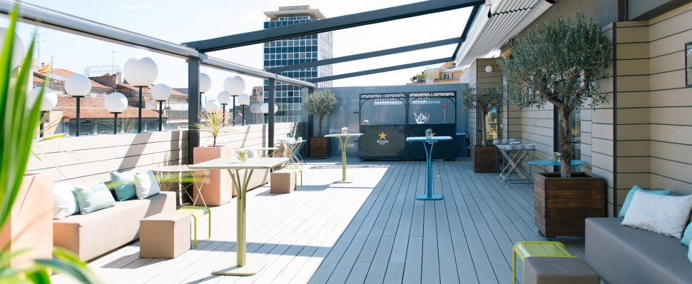 The Top Events Terraza The Top Hotel Gallery Barcelona