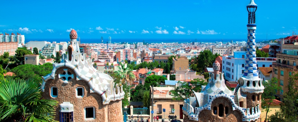 Barcelona at your feet, in the heart of the city
