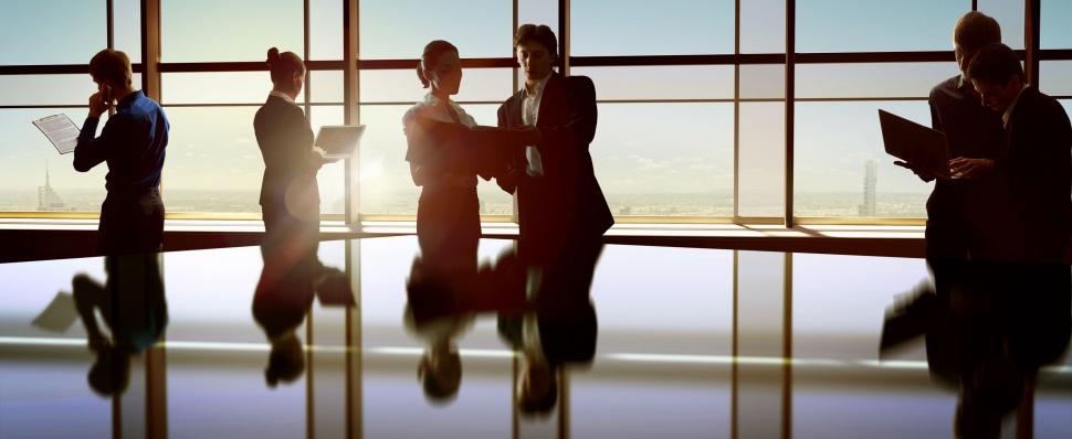 Voyage d'affaires et des réunions entre de bonnes mains